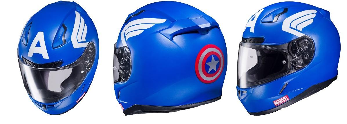 Marvel Motorcycle Helmet 3