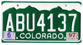 Least Cars Per Capita - Colorado