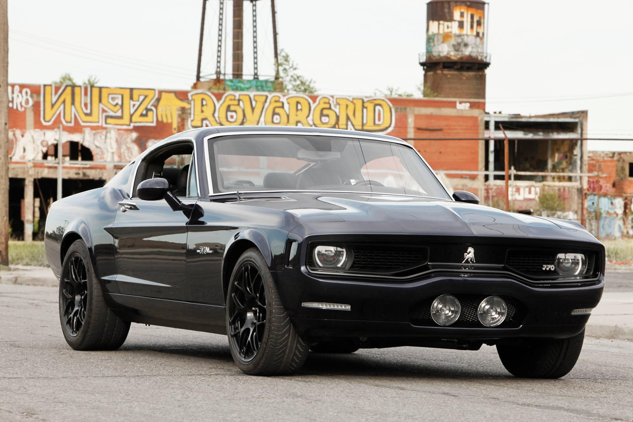 Modern American Muscle Cars - Equus Bass 770