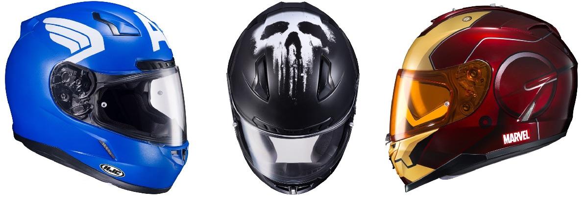 Marvel Motorcycle Helmet 1