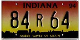 Least Cars Per Capita - Indiana