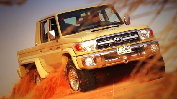 Toyota 76 Land Cruiser 6x6 1