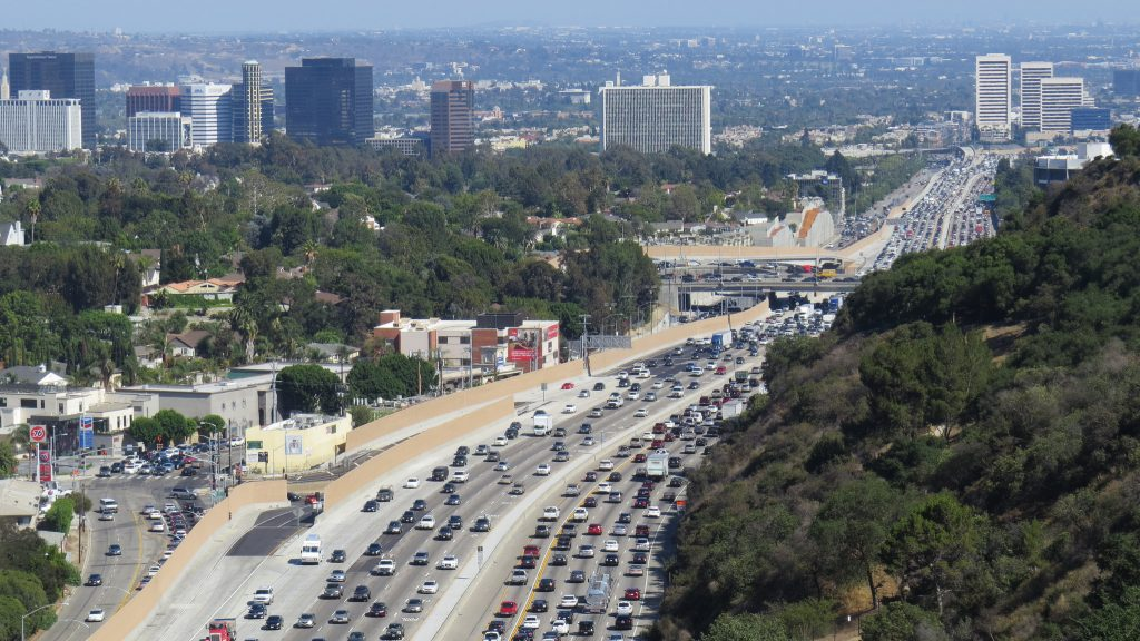 Cities With Most Traffic? Los Angeles