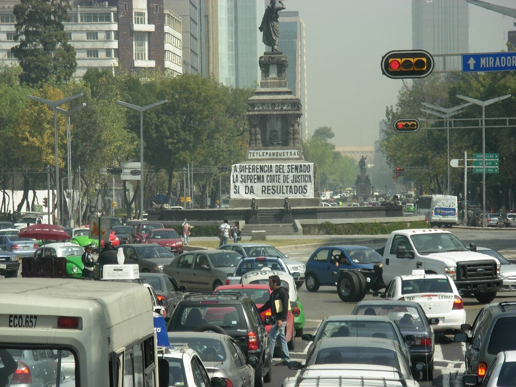 Cities With Most Traffic? Mexico City
