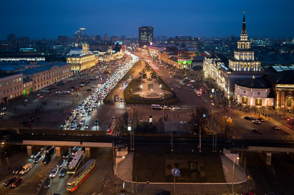 Cities With Most Traffic? Moscow