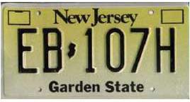 Least Cars Per Capita - New Jersey