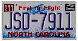 Least Cars Per Capita - North Carolina