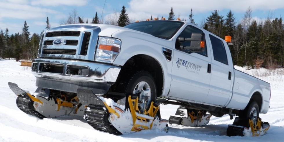Snow Tracks For Cars 1
