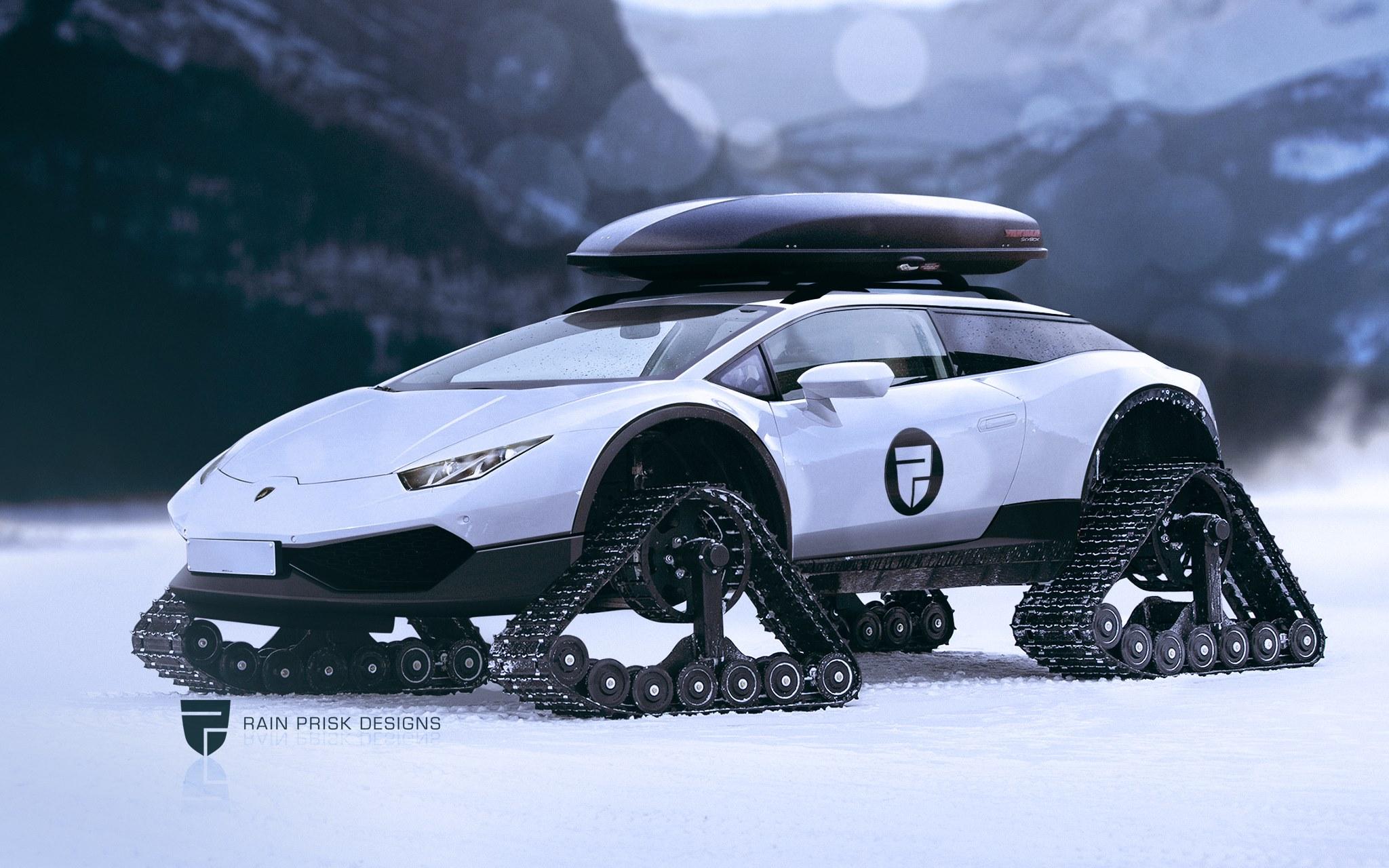 Lamborghini Snow Machine 1