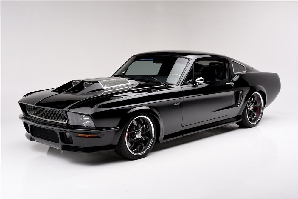 Obsidian Mustang 1
