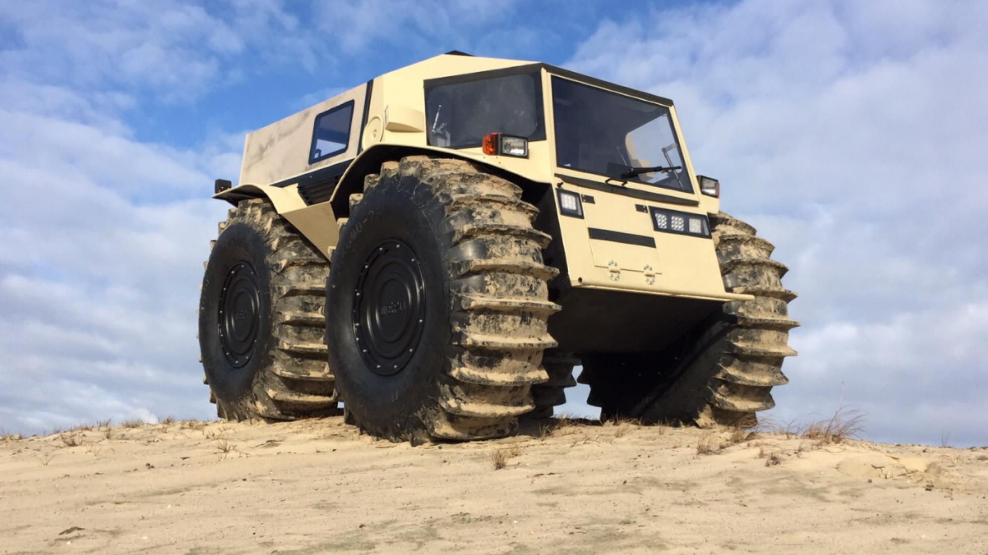 Russian Off Road Vehicles That You Haven't Heard Of - sherp
