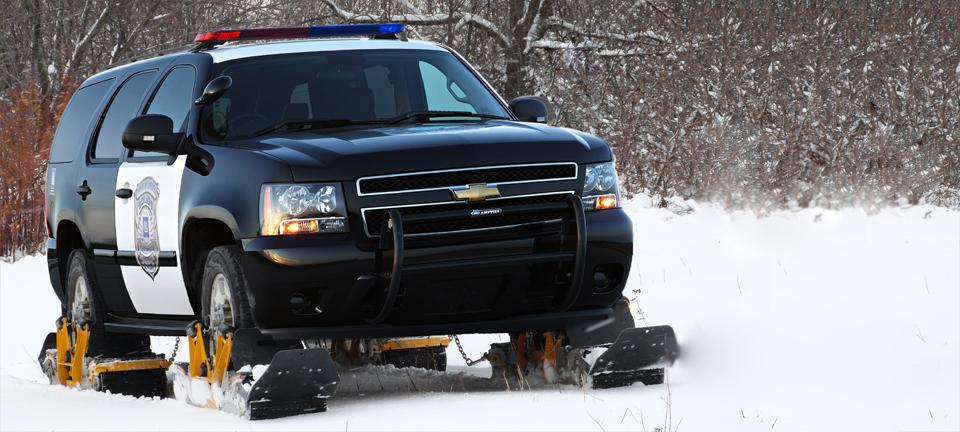 Snow Tracks For Cars - Police