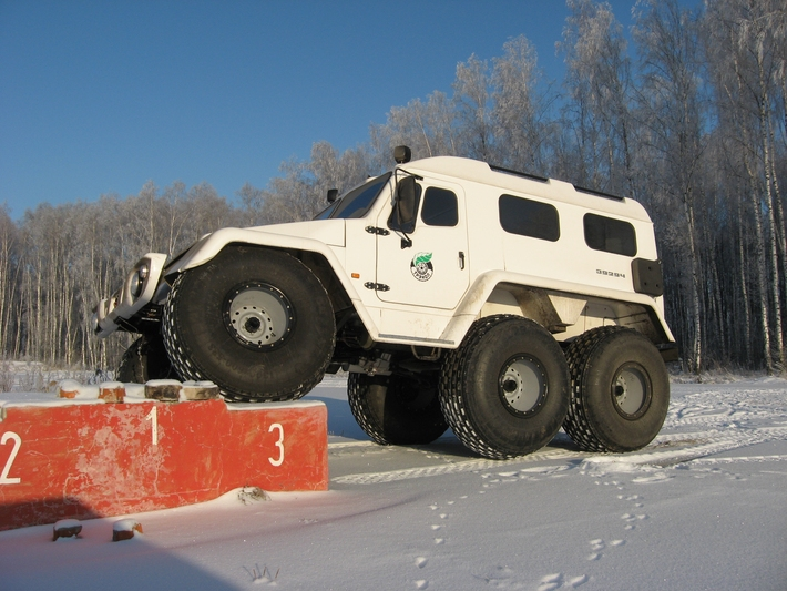 Russian Off Road Vehicles That You Haven't Heard Of - Trekol