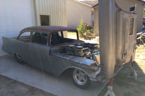 24 cylinder 57 Chevy 1
