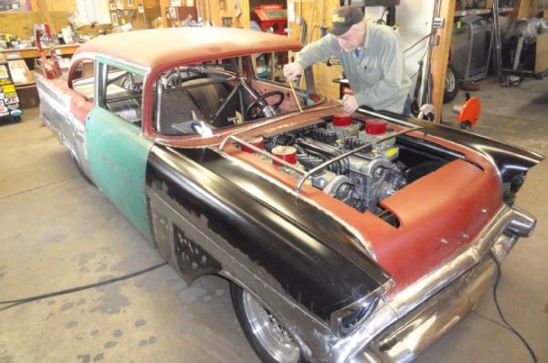 24 cylinder 57 Chevy 7