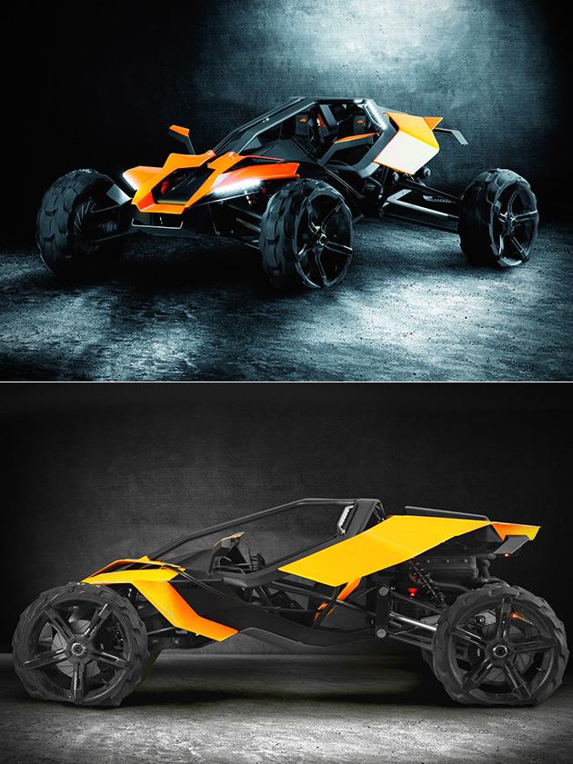 AX KTM Concept Buggy 2