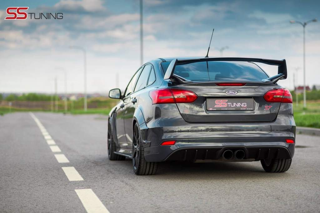 Focus ST Sedan Rear View