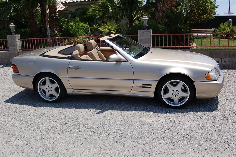 2001 mercedes sl500