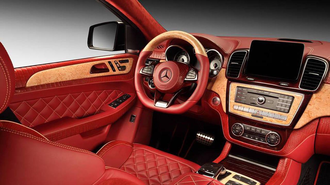 Mercedes GLE Coupe Interior 2