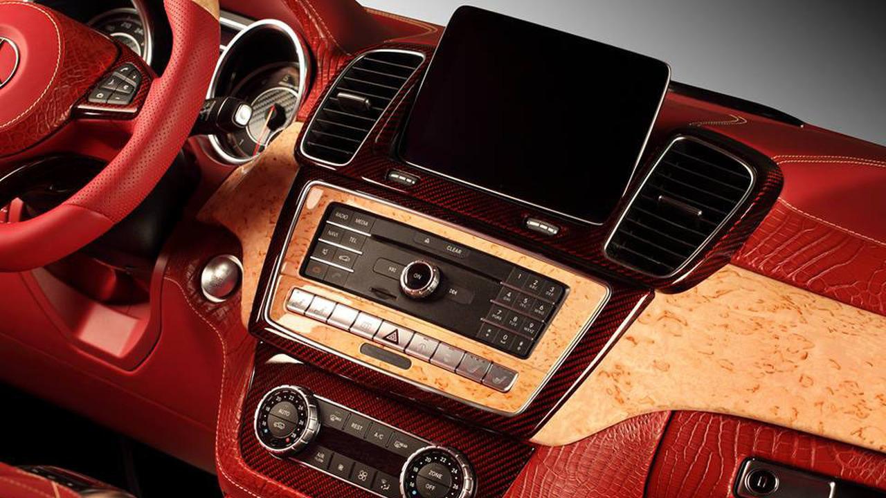 Mercedes GLE Coupe Interior 7