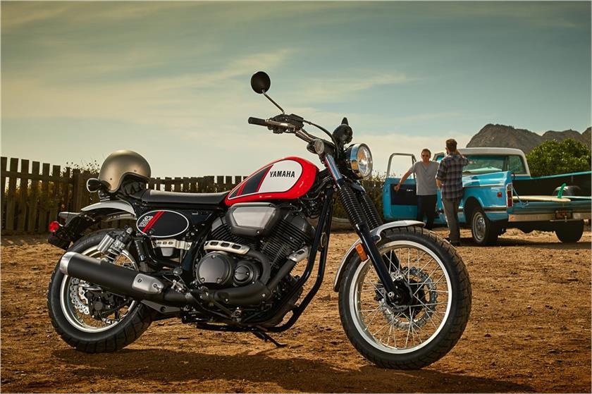 SCR950 Yamaha Scrambler 4