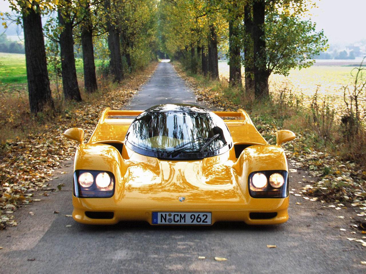 Rare Supercars - dauer_962_lm_road_car_1