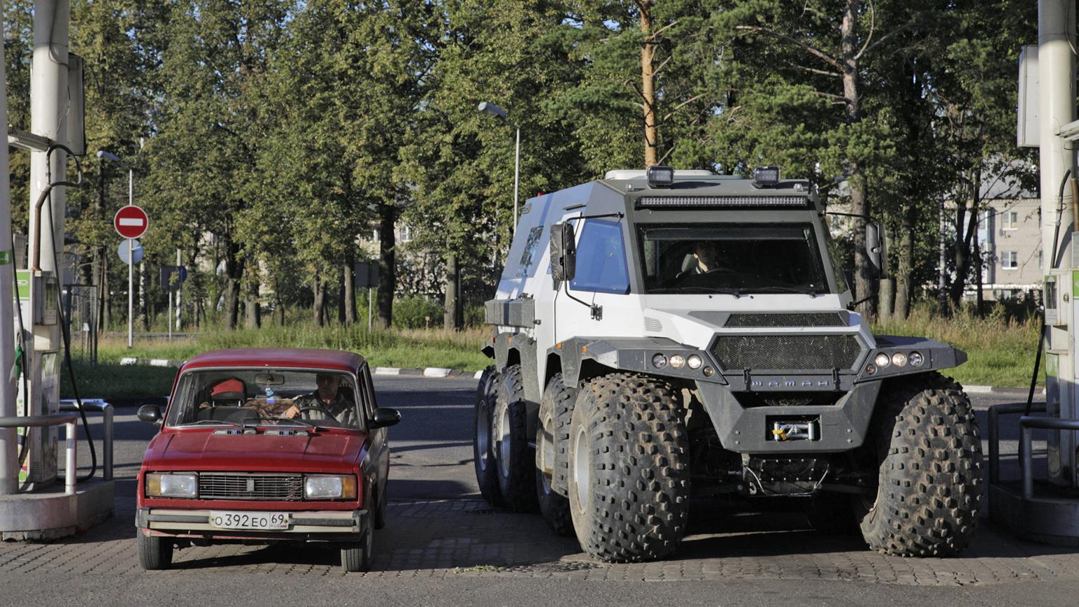 Russian Off Road Vehicles That You Haven't Heard Of - shaman