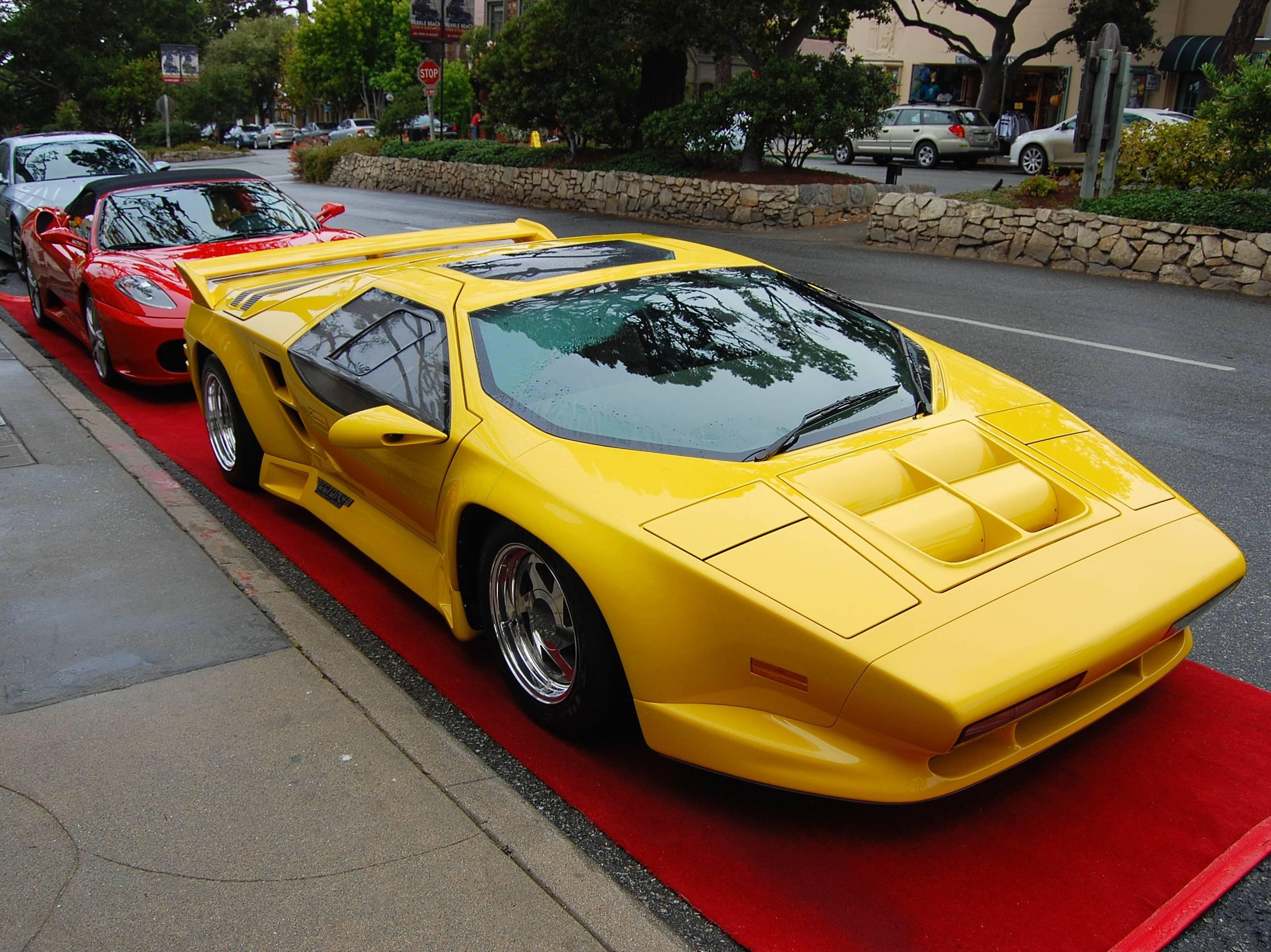 Rare Supercars - Vector W8