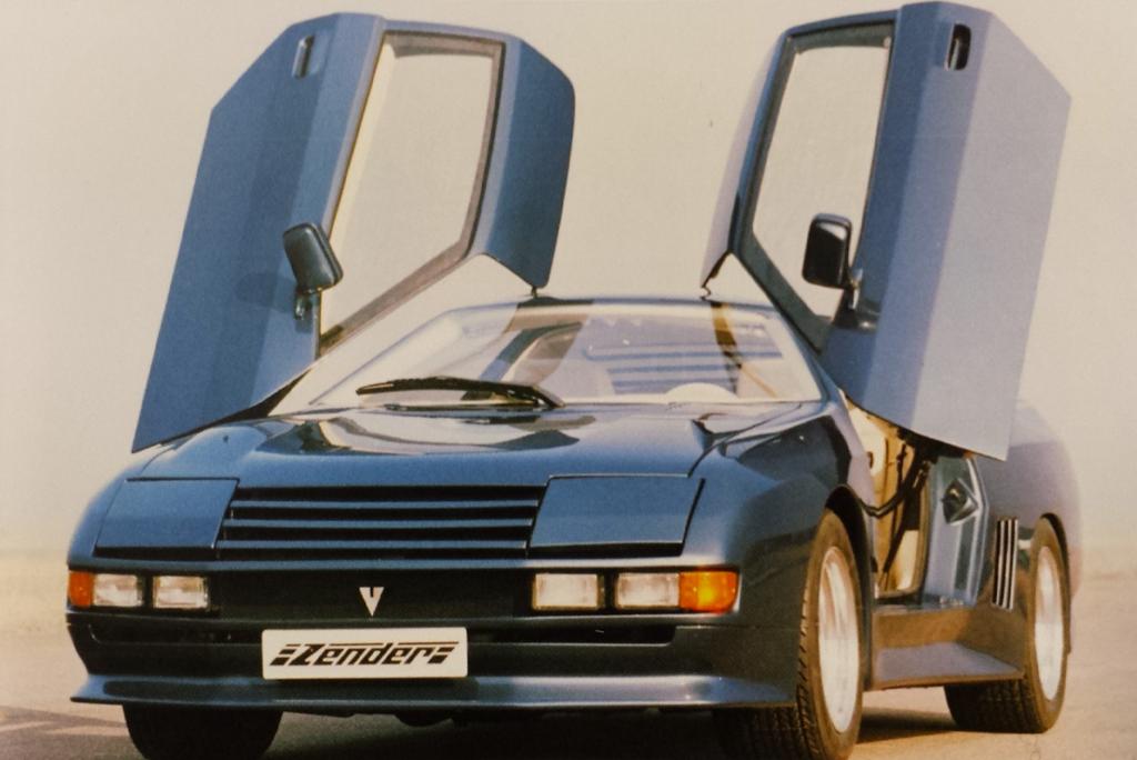 Rare Supercars - Zender Vision
