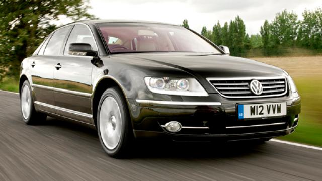 volkswagen phaeton is one of many cheap cars that turn heads.