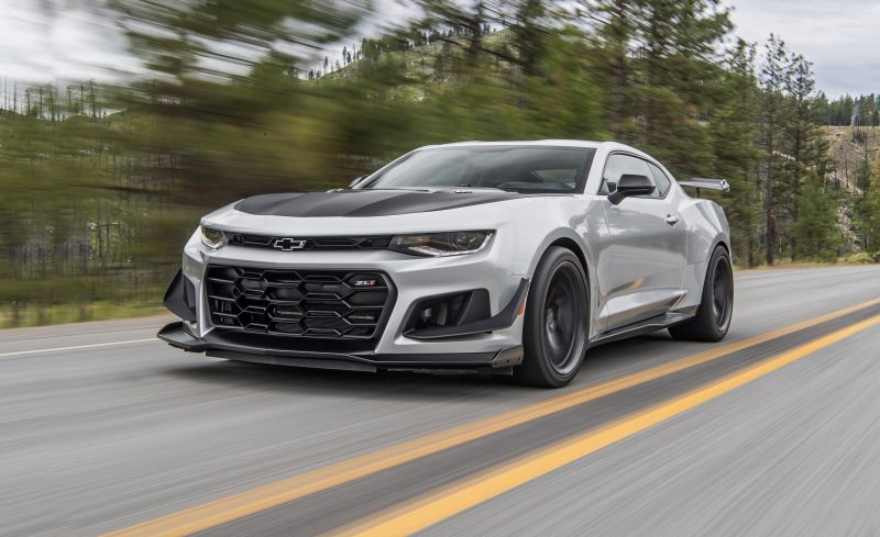 Modern American Muscle Cars - Chevrolet Camaro ZL1 1LE