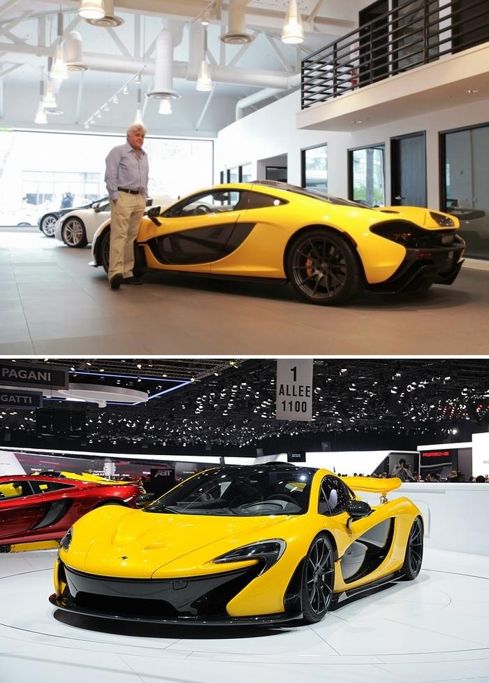 #1. Jay Leno - McLaren P1