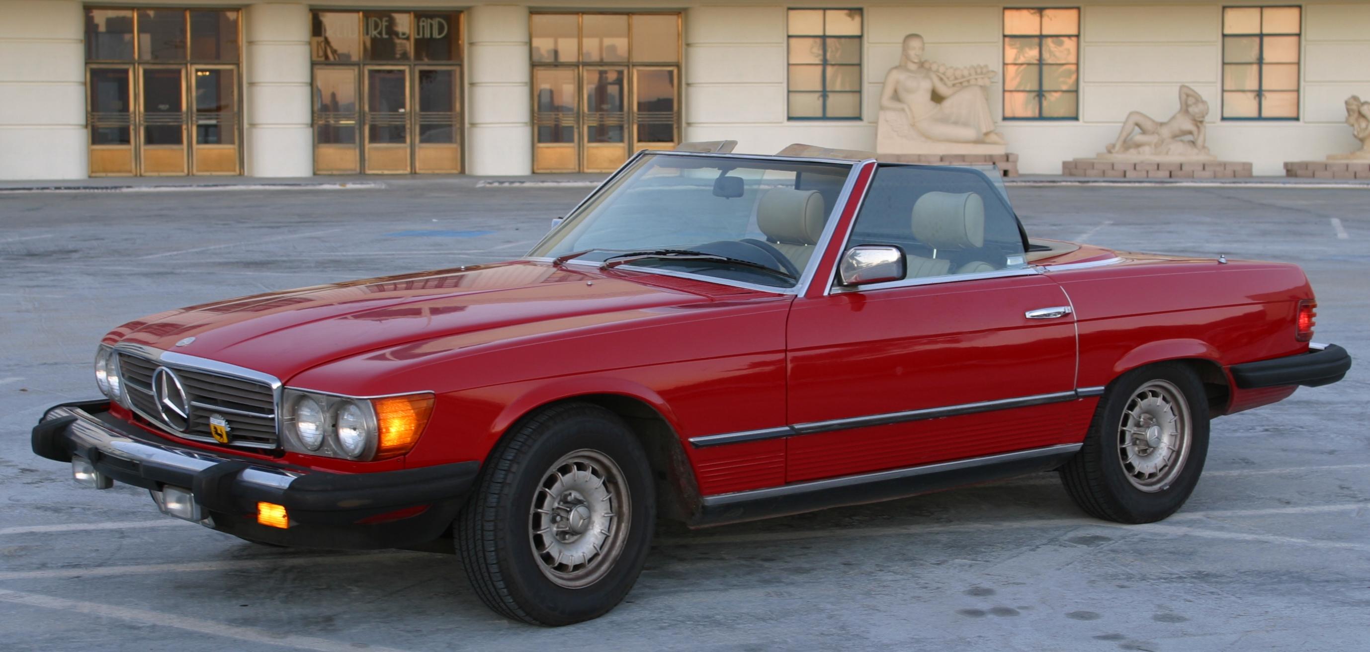 #1. R107 Mercedes SL