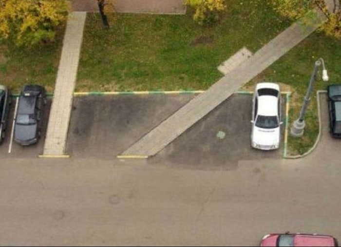 #10. Disastrous Parking Lot Design