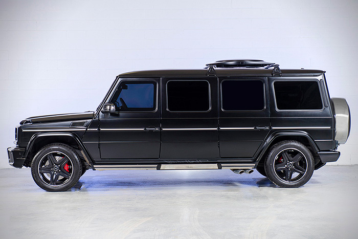 #10. Mercedes G63 Limo