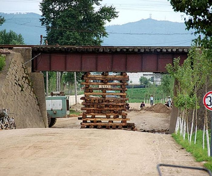 #15. Lumber Used for Bridge Support