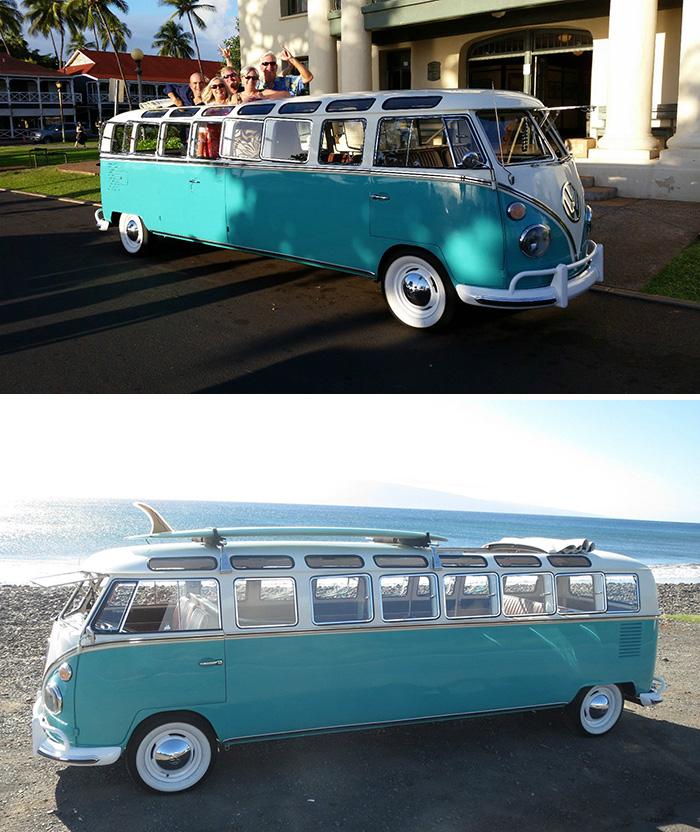 #16. Volkswagen Bus Limo