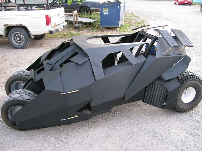 #19. Mini Batmobile
