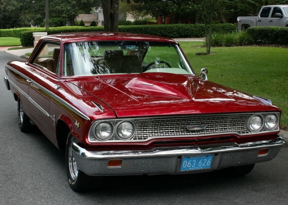 Fastest Classic Muscle Cars  - 1963_Ford_Galaxie_427