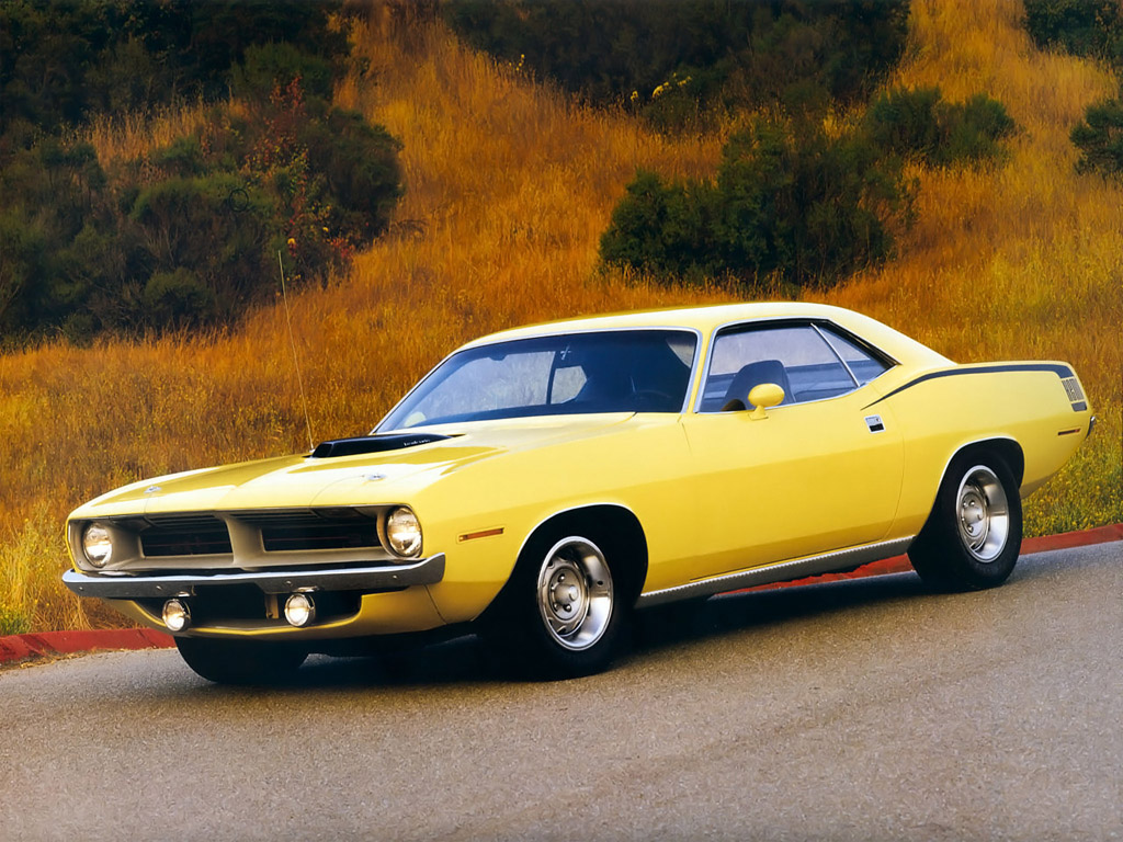 Fastest Classic Muscle Cars - 1970-plymouth-hemi-cuda