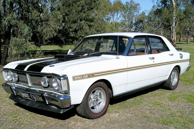 Fastest Classic Muscle Cars - 1971-ford-falcon-xy-gt-phase-iii-sedan