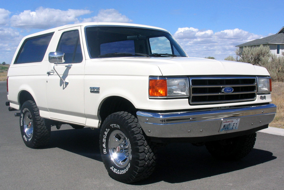 Classic SUV Models That Need Resurrecting - 1990 Ford Bronco