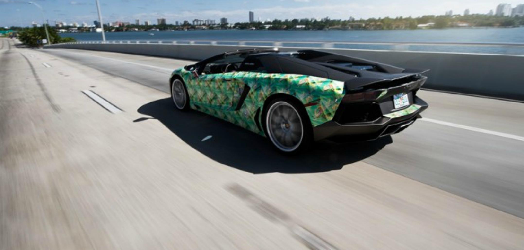 #2. Lamborghini Aventador II