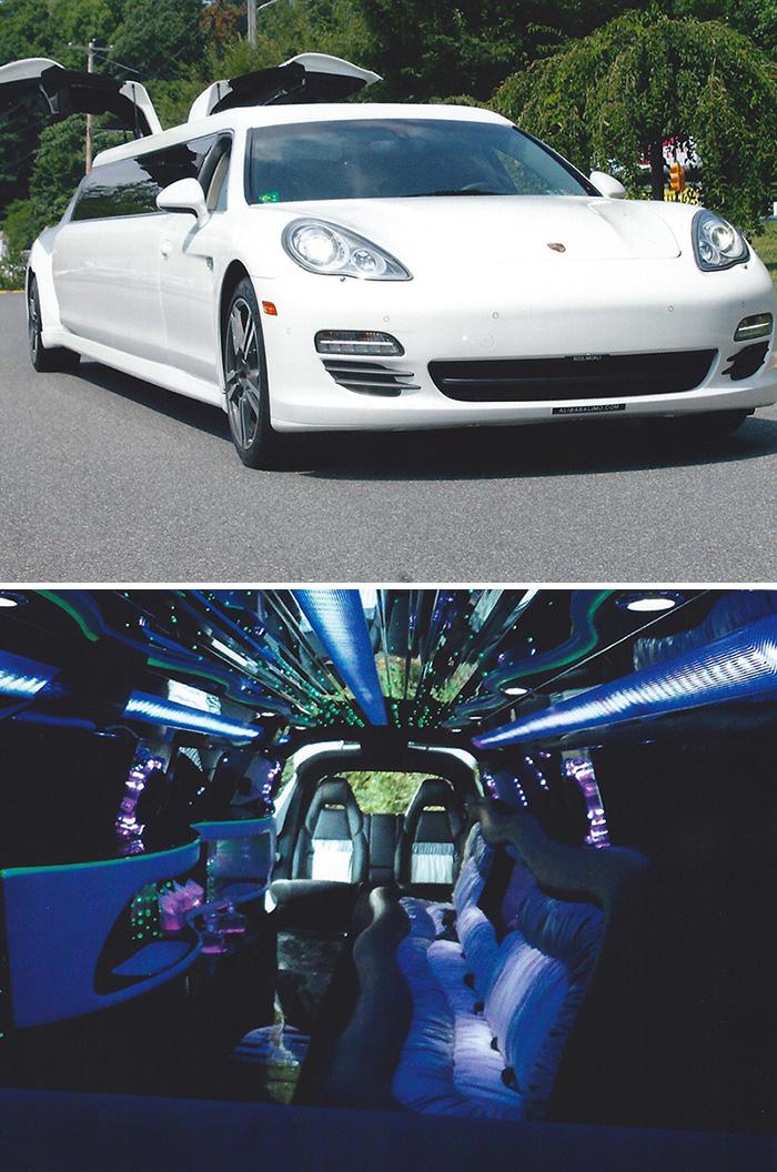 #20. Porsche Panamera Stretch Limo
