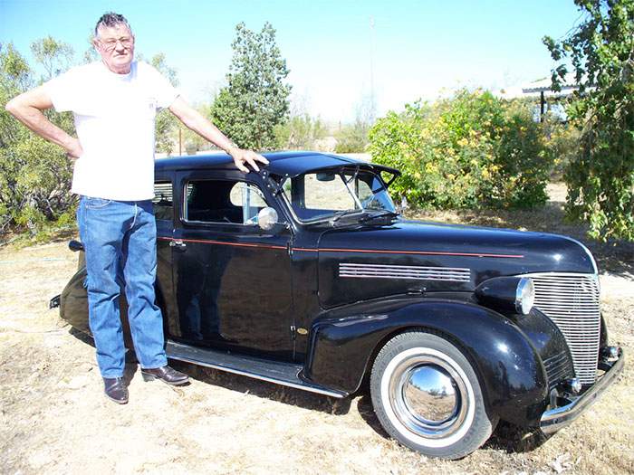 #23. Miniature 1939 Chevy Sedan