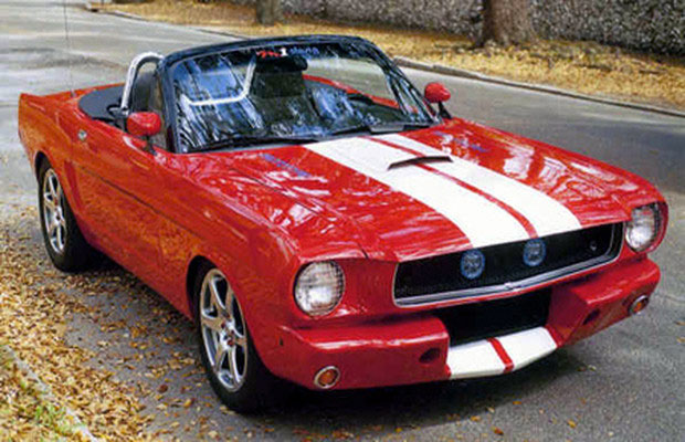 #26. Scale Replica Ford Mustang