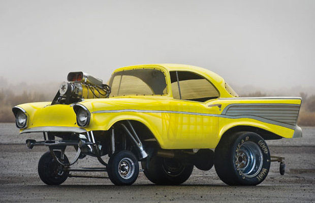 #29. 1957 Chevy Scale Show Rod