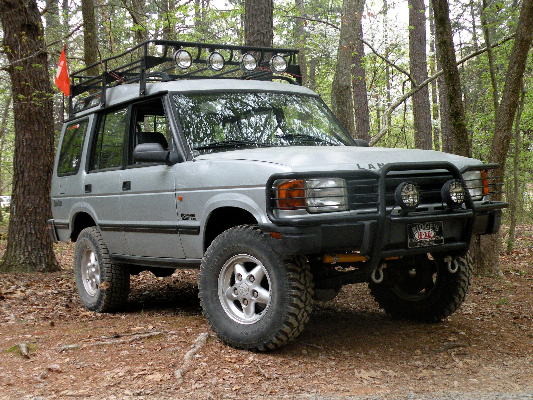 #3. 1996 Land Rover Discovery