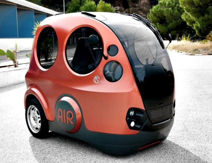 #3. Air-Powered Cars