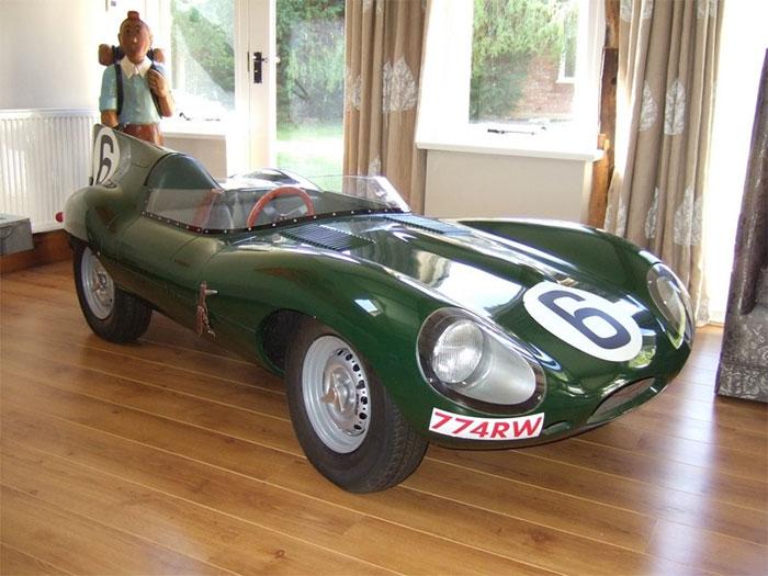 #30. Mini Jaguar D Type Convertible - cool mini drivable cars for adults